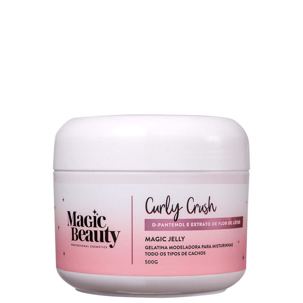 Magic Beauty Curly Crush Magic Jelly - Gelatina Ativadora de Cachos 500g