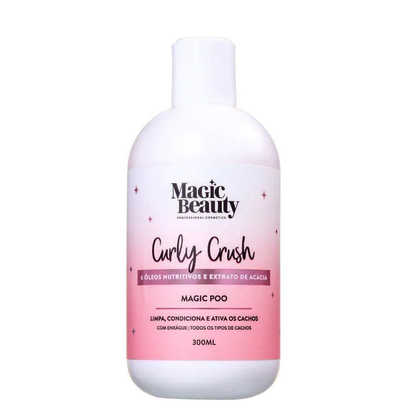 MAGIC BEAUTY Curly Crush Magic Poo - Shampoo 300ml