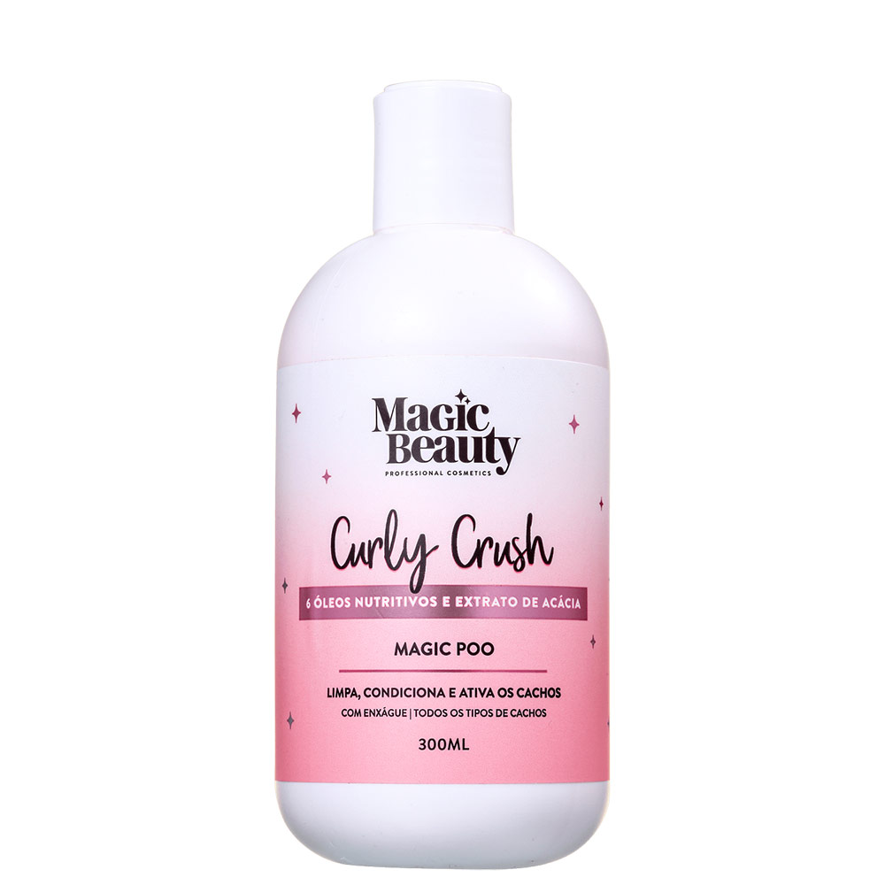 Magic Beauty Curly Crush Magic Poo - Shampoo Low Poo 300ml