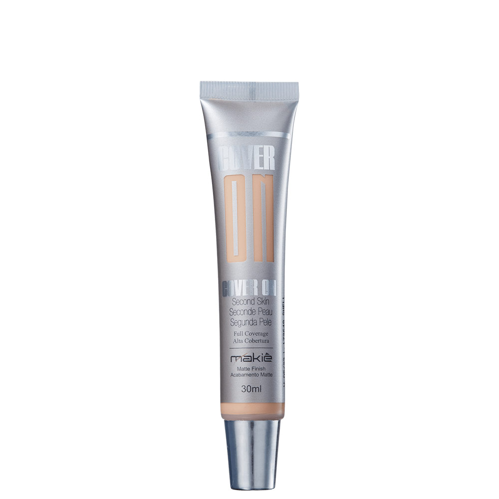 Makiê Cover On Second Skin Shell - Base Líquida 30ml