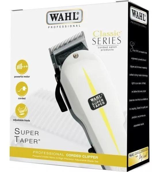 Máquina De Corte WAHL Super Taper - 100% Original 220v