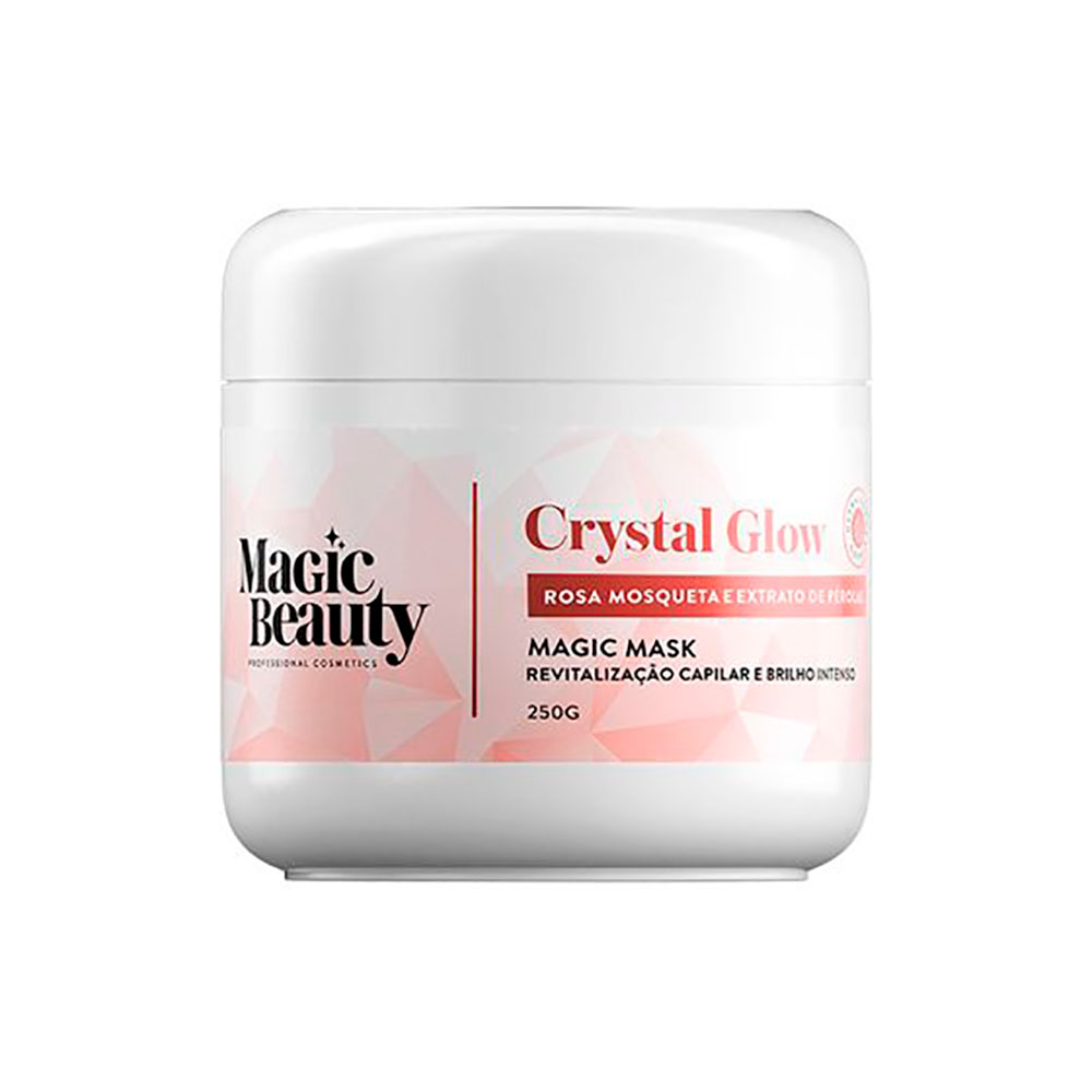 Máscara de Revitalização Magic Beauty Crystal Glow 250 g