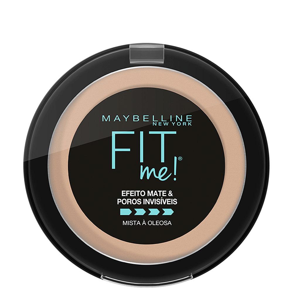 Maybelline Fit Me! N03 Médio Claro Neutro - Pó Compacto Matte 10g