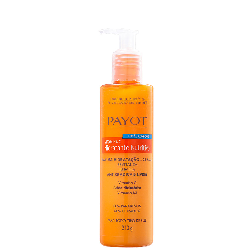 Payot Vitamina C Nutritivo - Loção Hidratante Corporal 210g