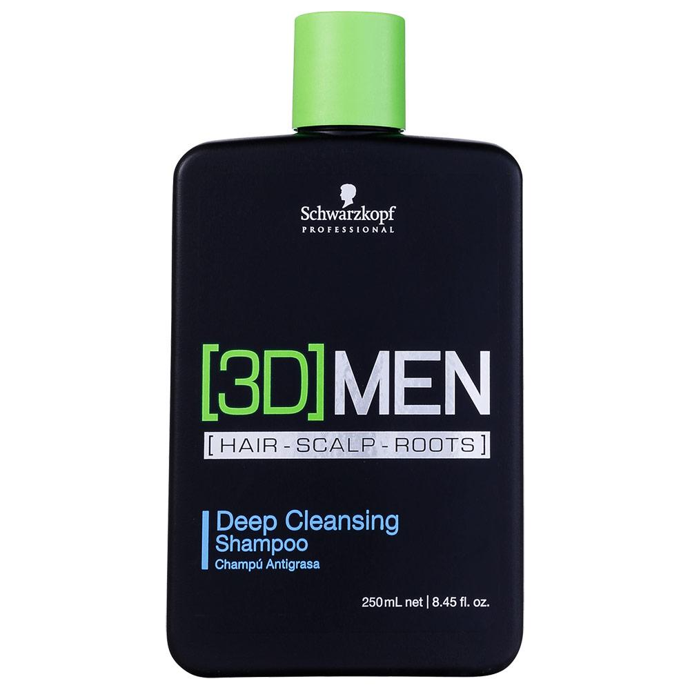 Schwarzkopf Professional 3DMension Deep Cleansing - Shampoo Antirresíduo 250ml