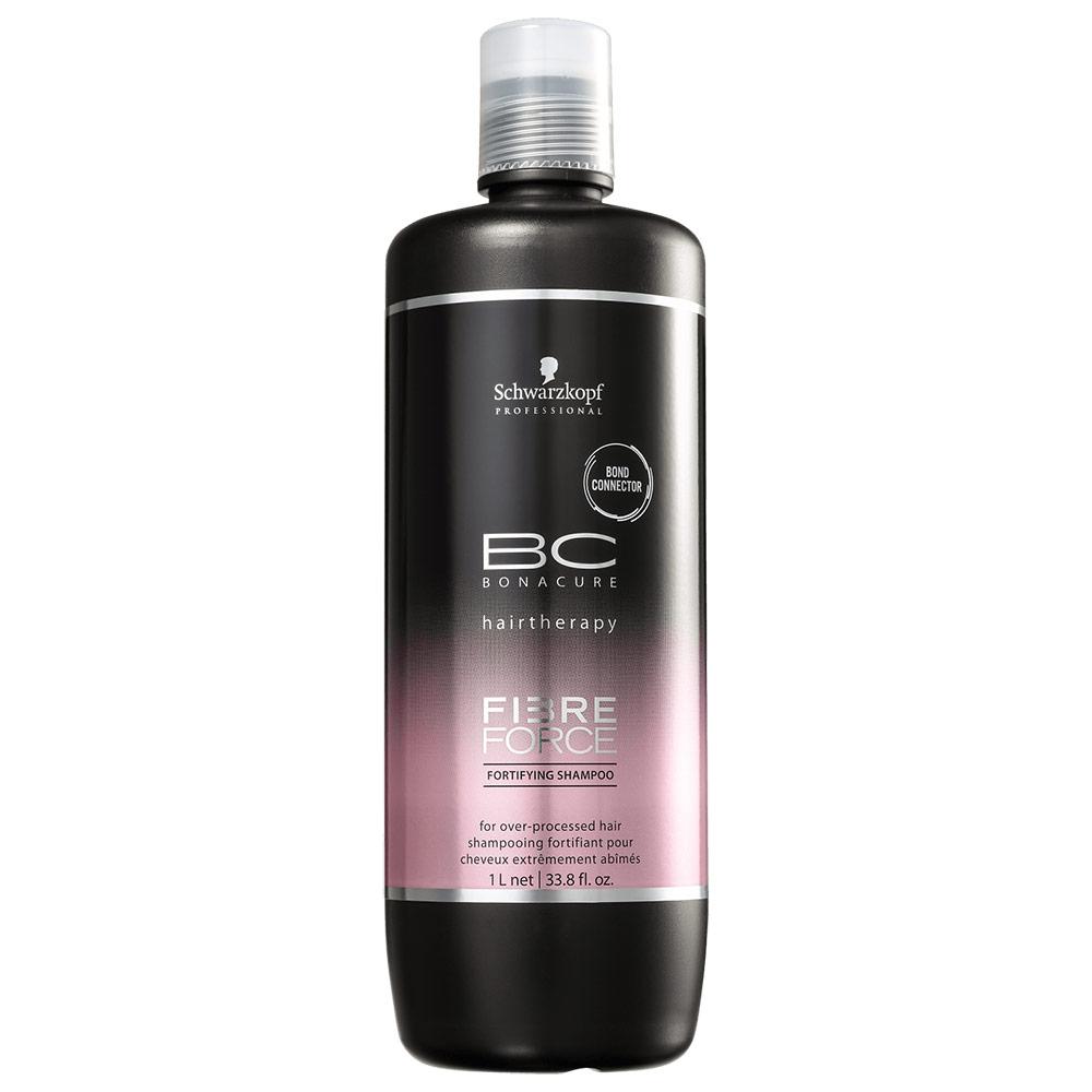 Schwarzkopf Professional BC Bonacure Fibre Force Fortifying - Shampoo sem Sulfato 1000ml