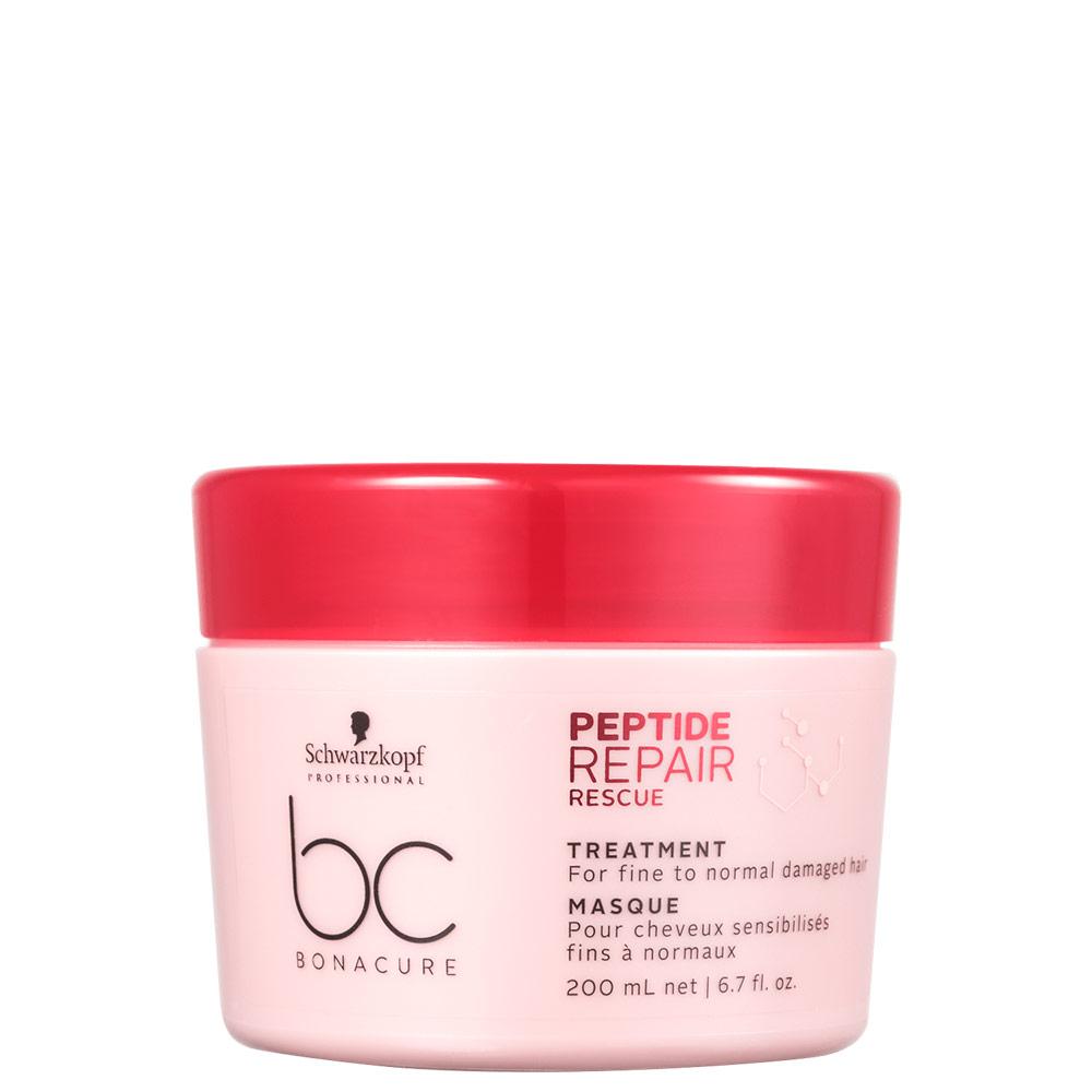 Schwarzkopf Professional BC Bonacure Peptide Repair Rescue Treatment - Máscara Capilar 200ml