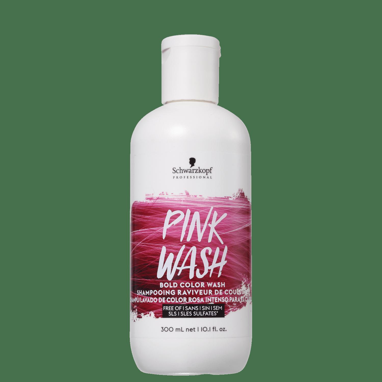 Schwarzkpf Professional Bold Color Wash Rosa - Shampoo Tonalizante 300ml