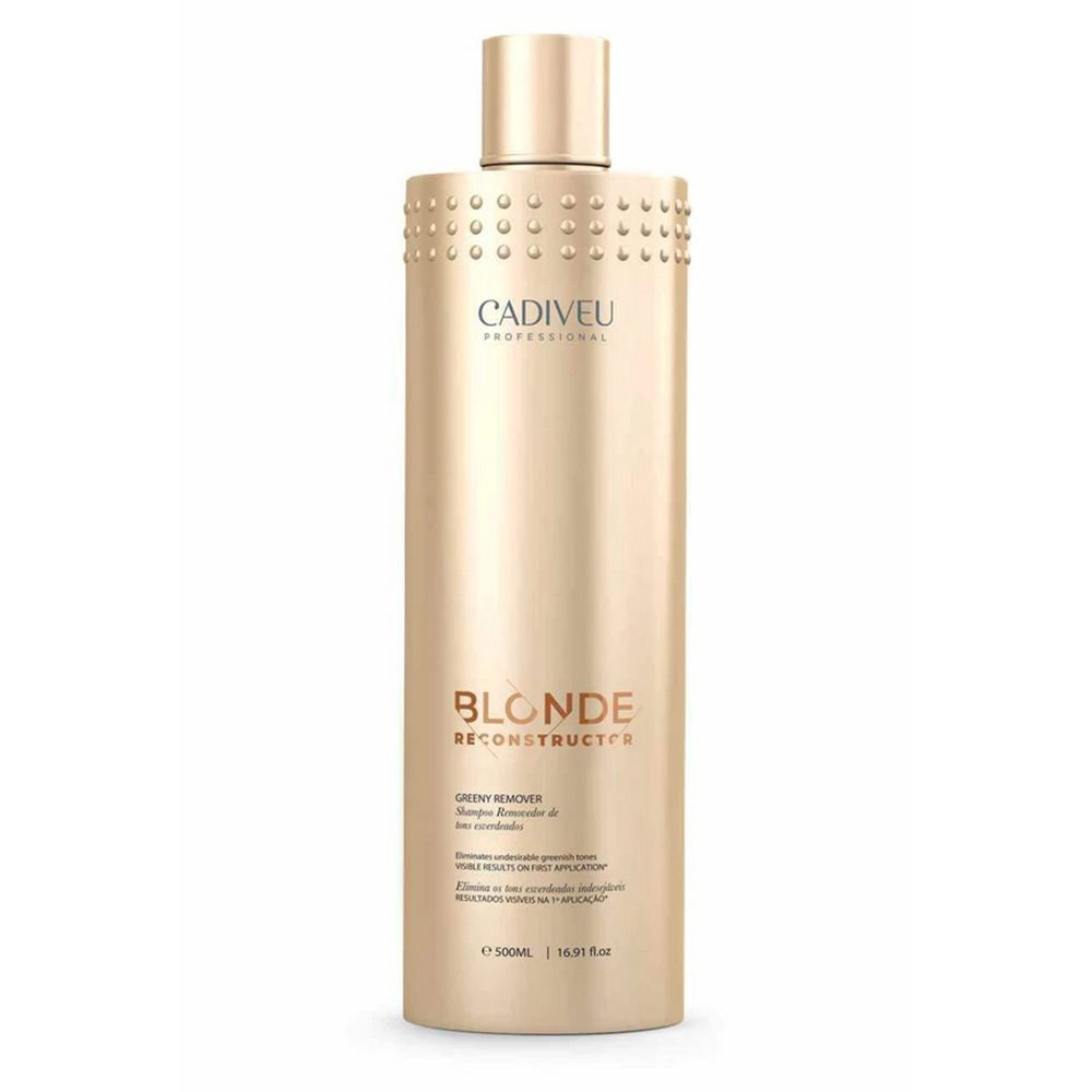 Shampoo Clarificante Greeny Remover Blonde 500ml Cadiveu