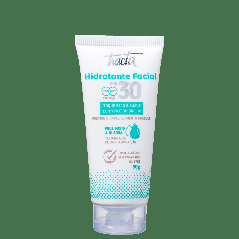 Tracta Pele Mista a Oleosa FPS30 - Hidratante Facial 50g
