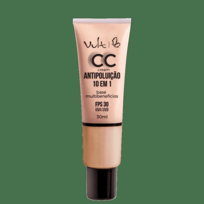 Vult CC Cream Antipoluição 10 em 1 FPS 30 Cor MB02 30ML