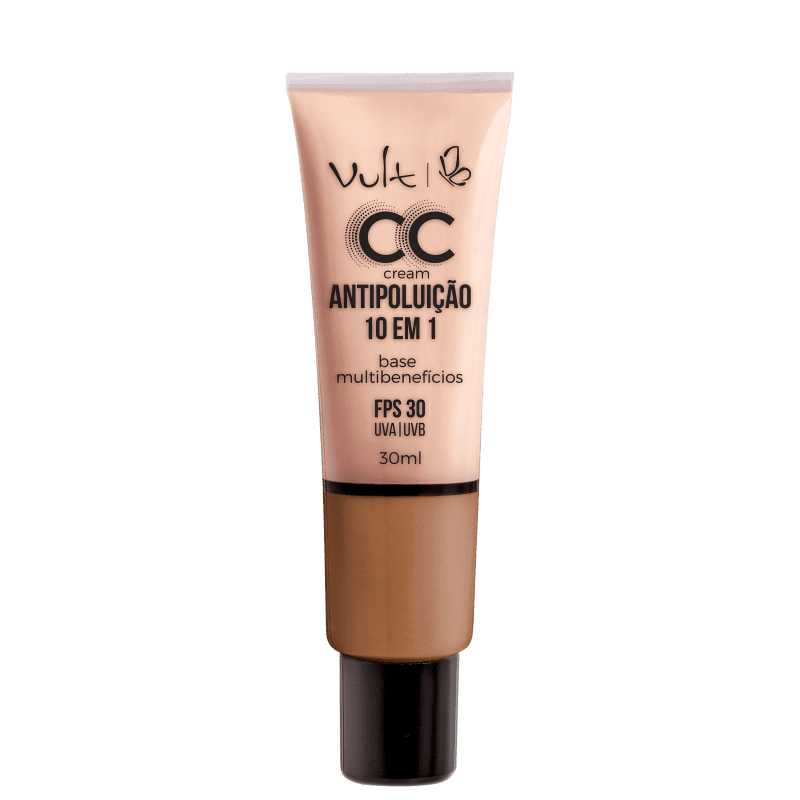 Vult CC Cream Antipoluição 10 em 1 FPS 30 Cor MB05 30ML