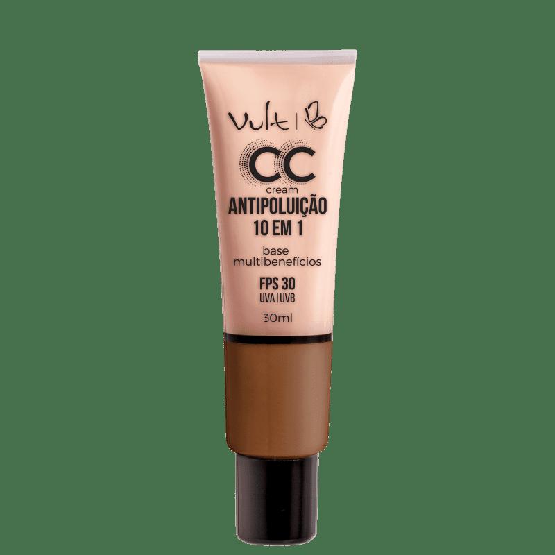 Vult CC Cream Antipoluição 10 em 1 FPS 30 Cor MB06 30ML