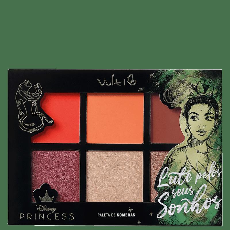 Vult Disney Paleta de Sombras Princess Tiana Lute Pelos Seus Sonhos 16,8gr