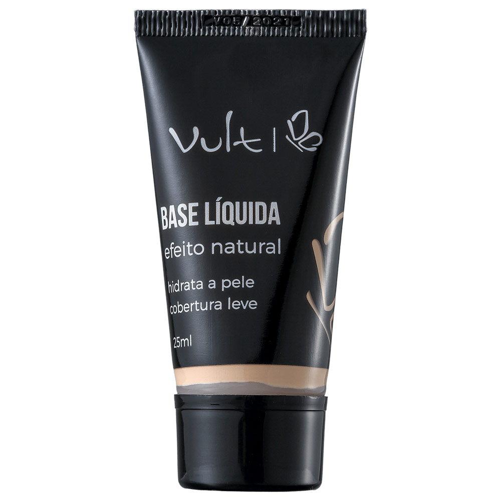 Vult Efeito Natural 01 - Base Líquida 25ml