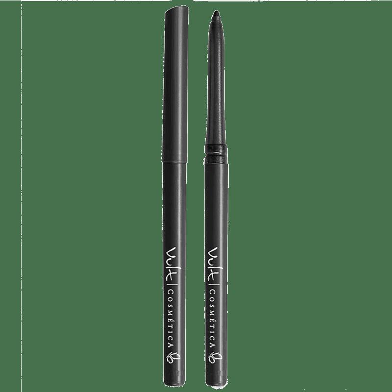 Vult Lápis para Olhos Retrátil Á Prova D'água Cor Preto Opaco 0,28gr
