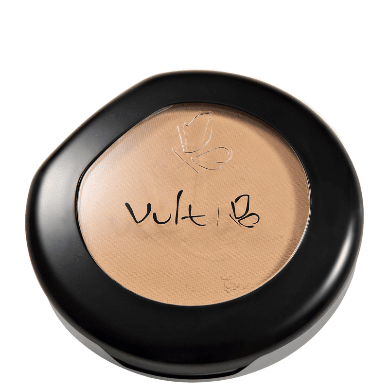 Vult Make Up Matte Pó Compacto Cor 08 Marrom 9gr
