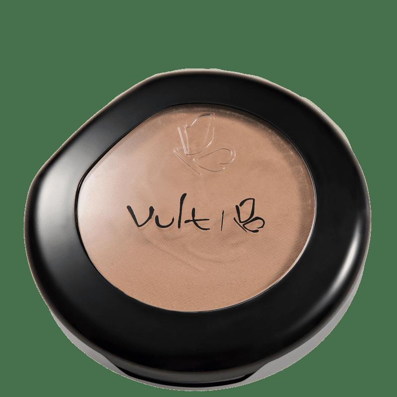Vult Make Up Matte Pó Compacto Cor 09 Marrom 9gr