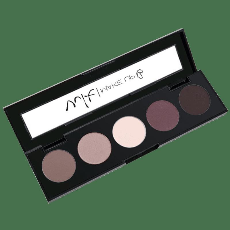 Vult Make Up Paleta de Sombras Quintetos Cor Lovely Nude 8,5gr