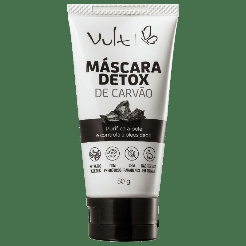 Vult Máscara Detox de Carvão 50gr