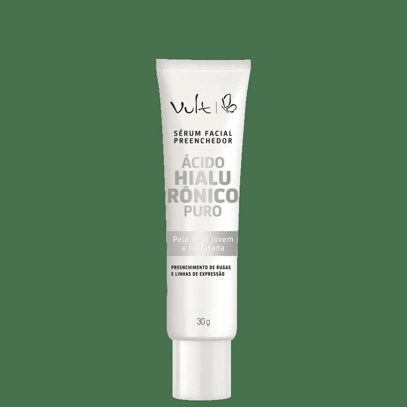 Vult Preenchedor Ácido Hialurônico Puro - Sérum Anti-Idade Facial 30g