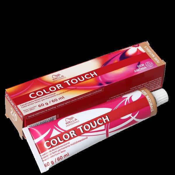 Wella Professionals Color Touch 2/0 Preto - Tonalizante 60g
