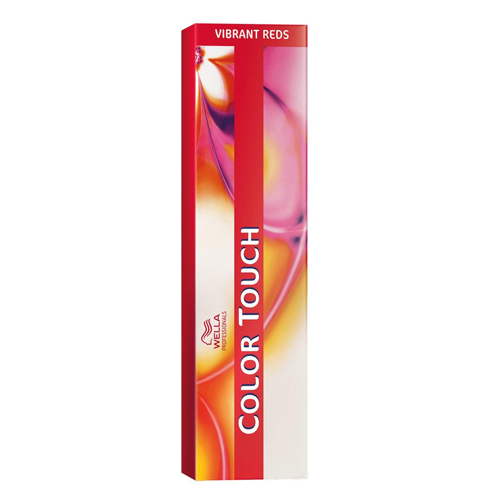 Wella Professionals Color Touch 66/45 Louro Escuro Intenso Vermelho Acaju - Tonalizante 60g