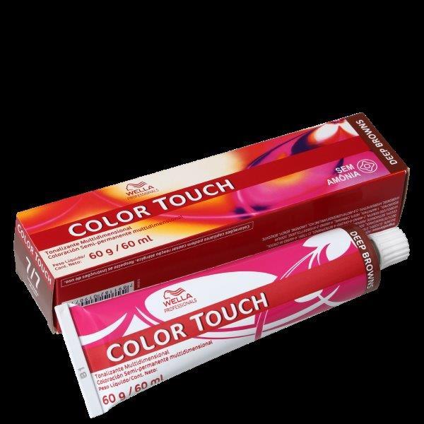 Wella Professionals Color Touch 7/7 Louro Médio Marrom - Tonalizante 60g