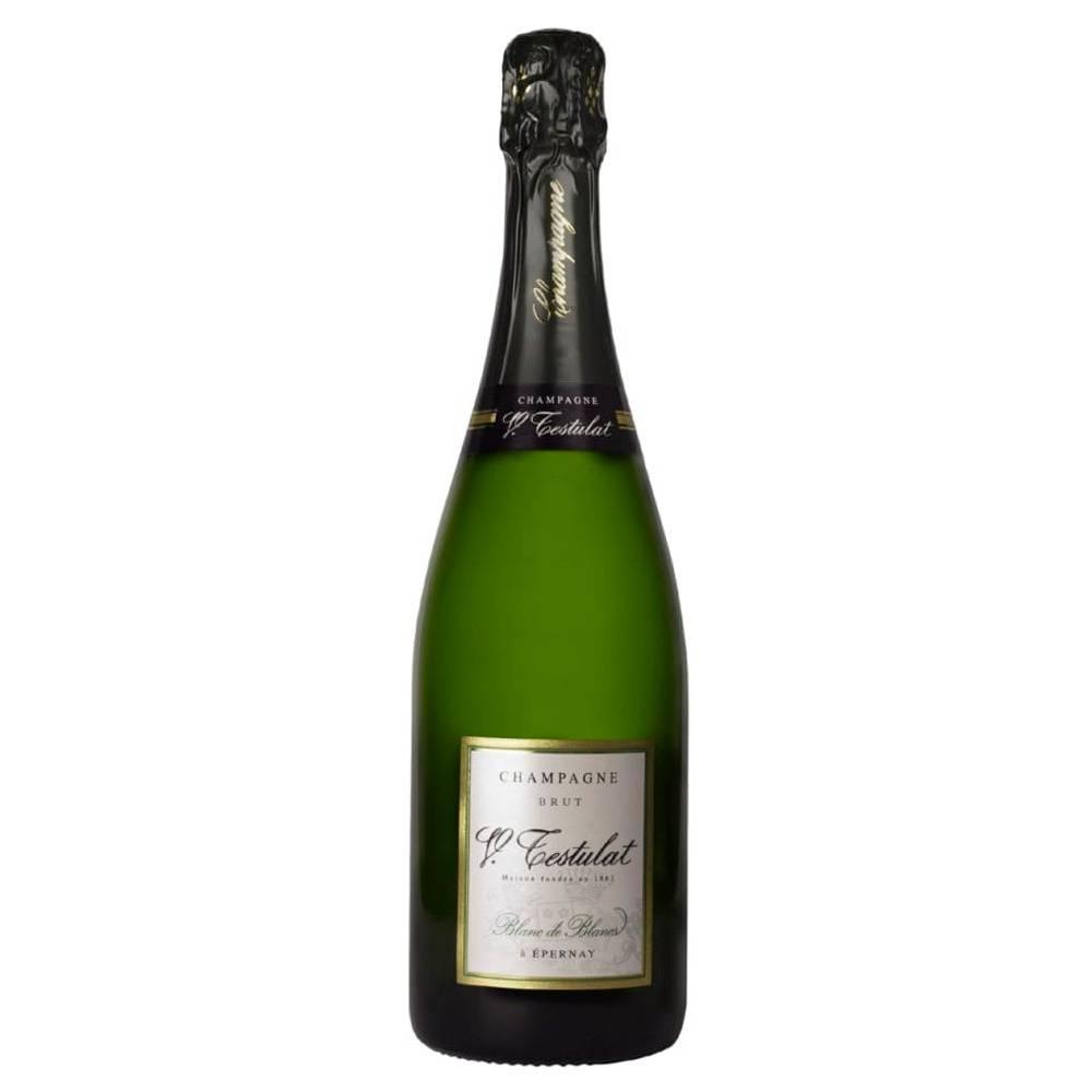 Champagne Testulat Blanc de Blancs Chardonnay Garrafa 750ml