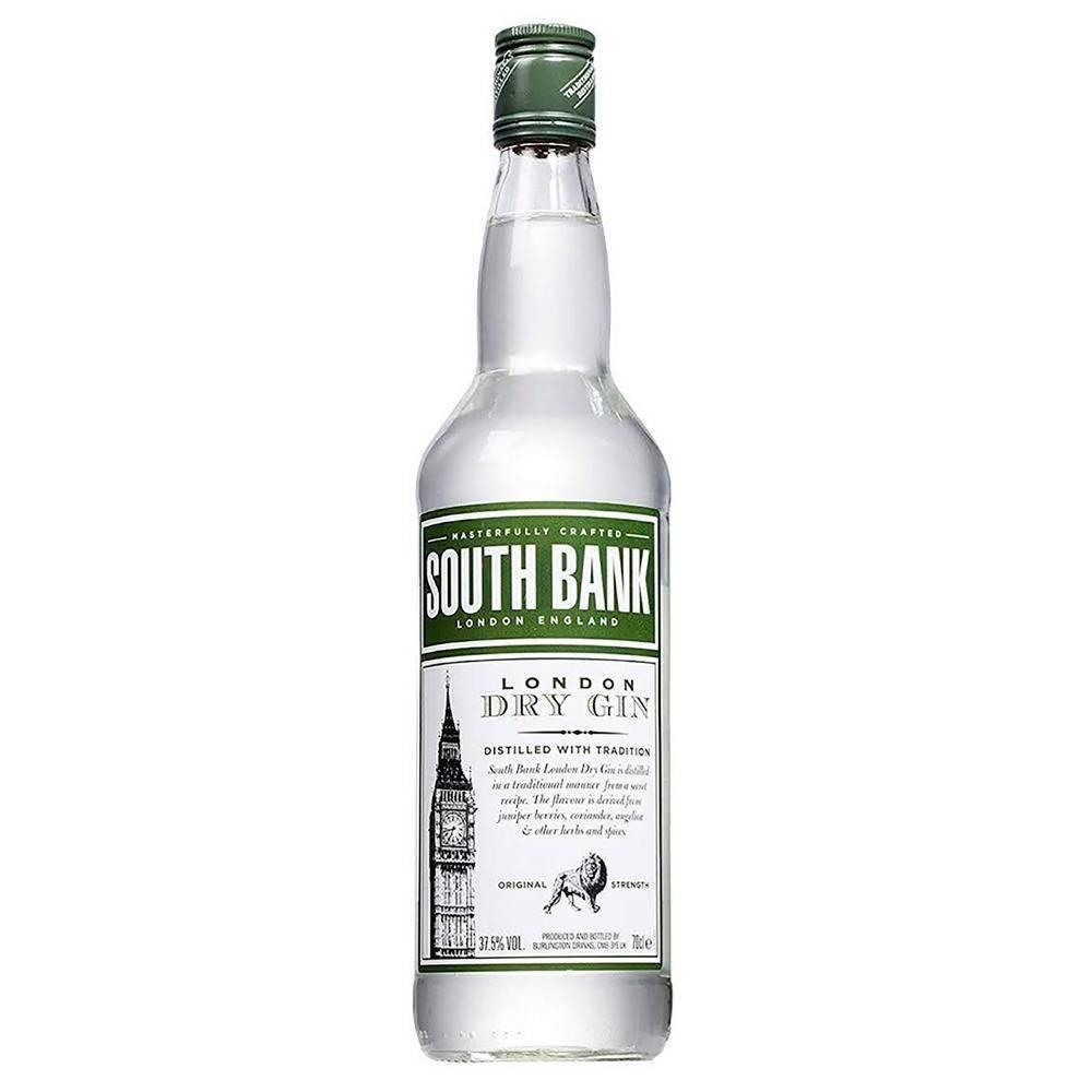 Gin Inglês South Bank London Dry Garrafa 700ml