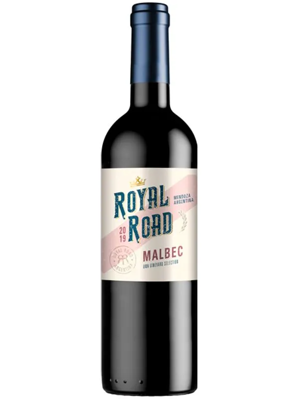 Vinho Argentino Tinto Royal Road Malbec 2019 Garrafa 750ml