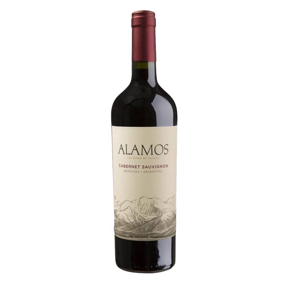 Vinho Argentino Tinto Alamos Cabernet Sauvignon 2019 Garrafa 750ml
