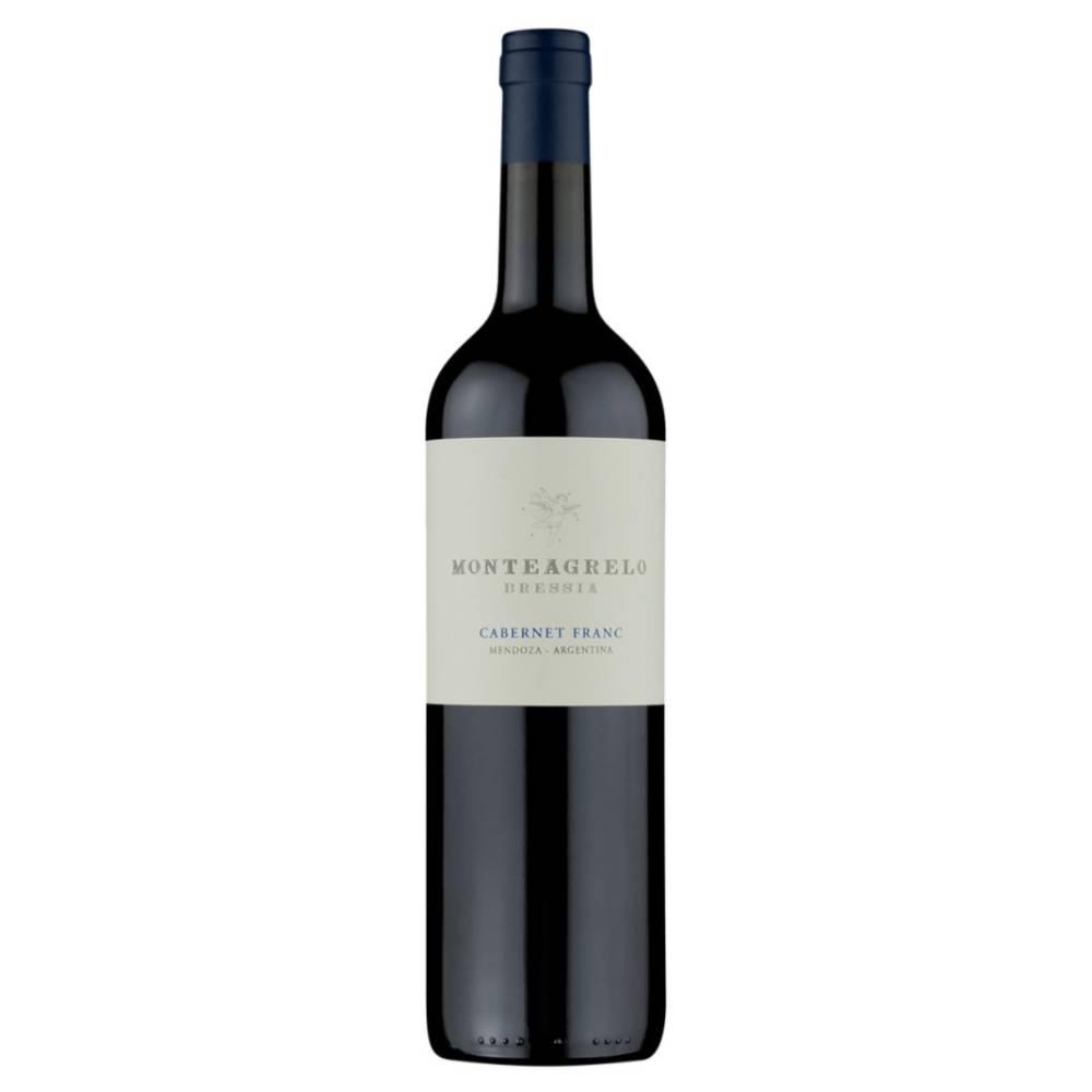 Vinho Argentino Tinto Bressia Monteagrello Cabernet Franc 2017 Garrafa 750ml
