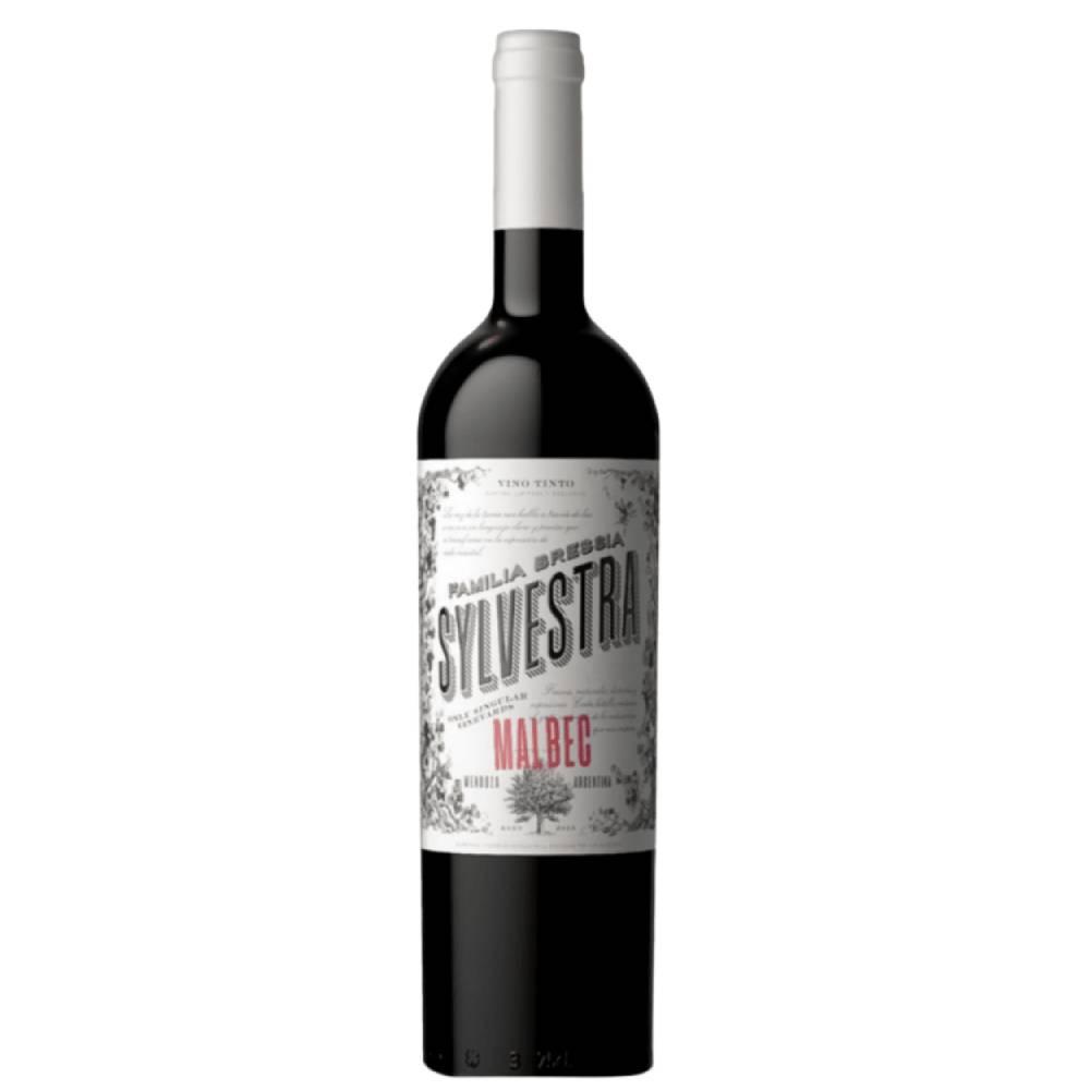 Vinho Argentino Tinto Bressia Sylvestra Malbec 2020 Garrafa 750ml