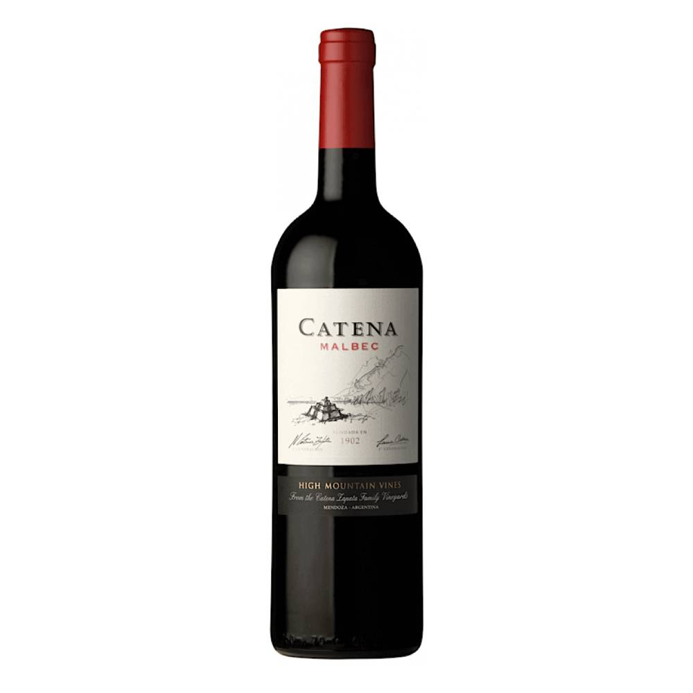 Vinho Argentino Tinto Catena Malbec 2018 Garrafa 750ml
