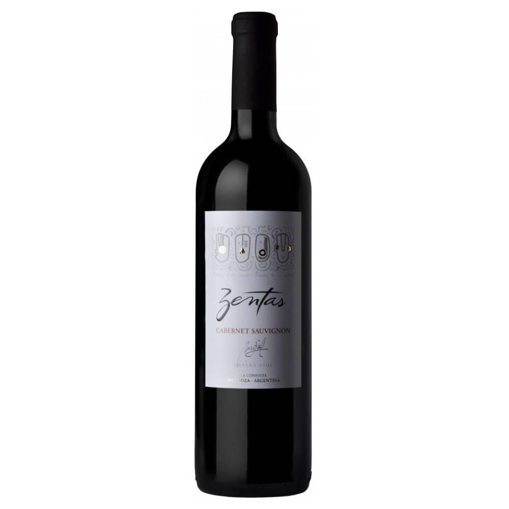 Vinho Argentino Tinto Zentas Cabernet Sauvignon 2018 Garrafa 750ml