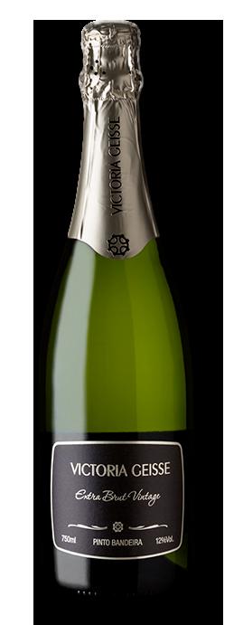 Vinho Brasileiro Espumante Victoria Geisse Vintage 12 Meses Garrafa 750ml
