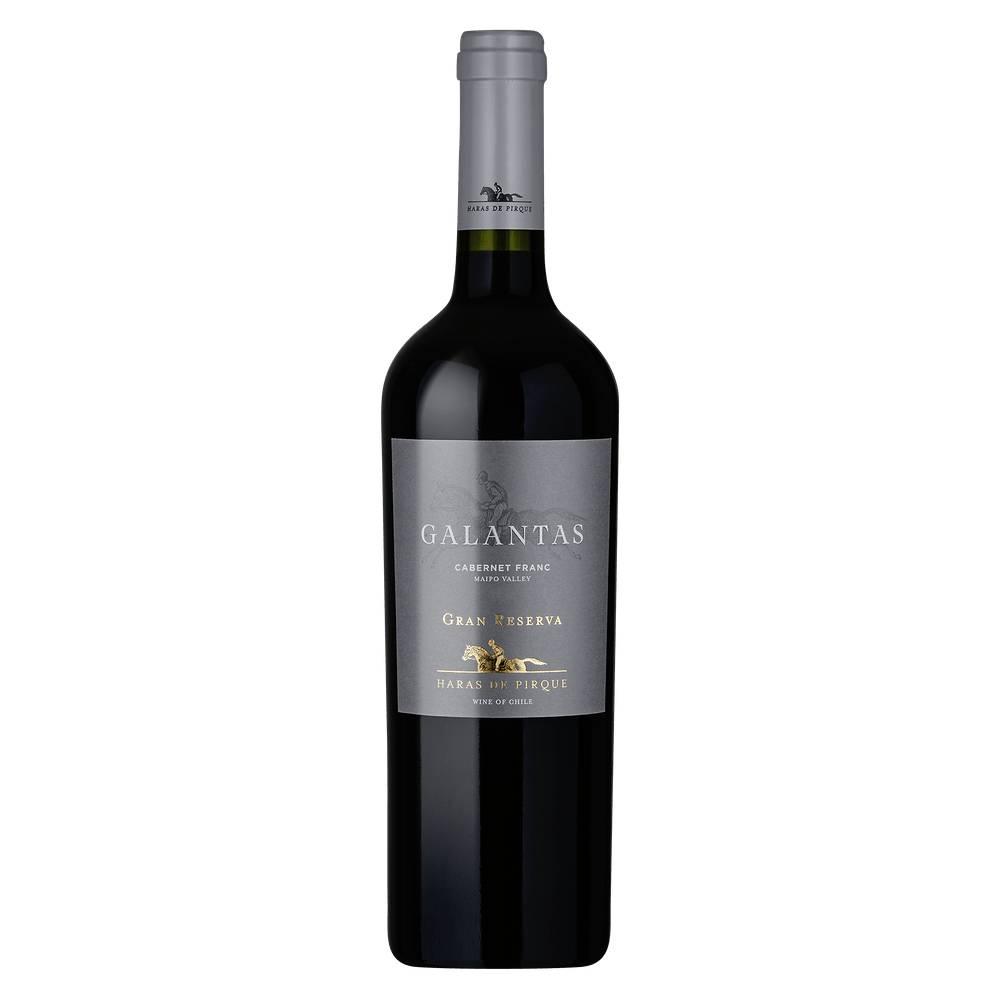 Vinho Tinto Chileno Haras de Pirque Galantas Gran Reserva Cabernet Franc 2018 Garrafa 750ml