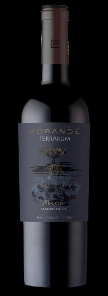 Vinho Chileno Tinto Morandé Terrarum Reserva Carmenère 2019 Garrafa 750ml