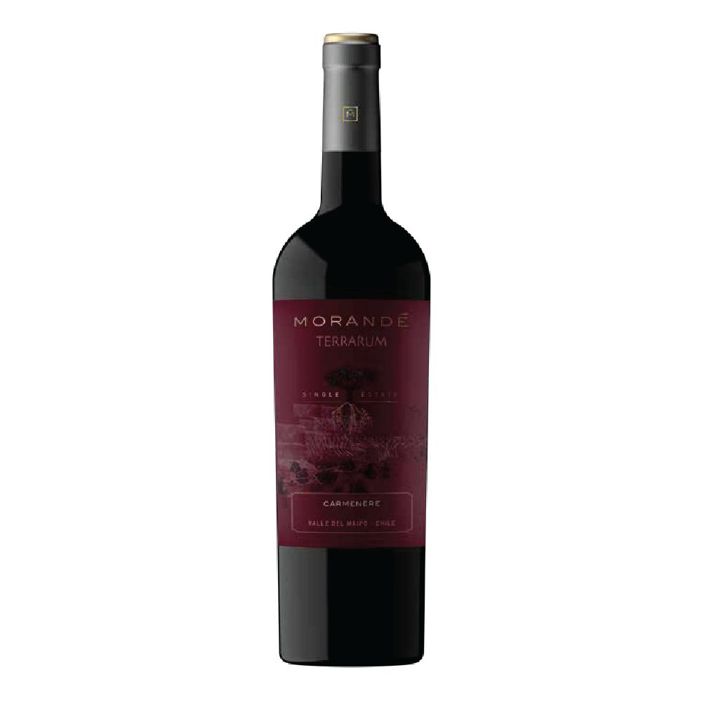 Vinho Chileno Tinto Morandé Terrarum Single State Carmenère 2019 Garrafa 750ml
