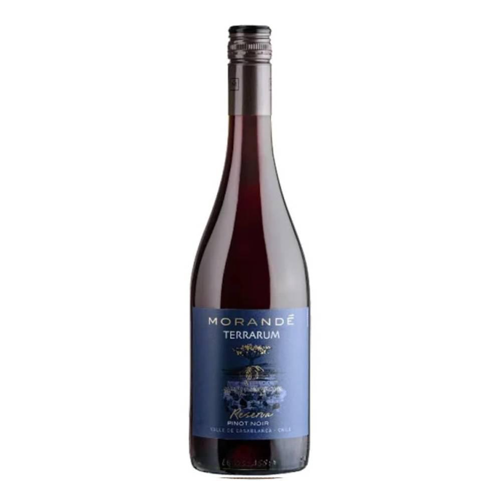 Vinho Chileno Tinto Morandé Terrarum Reserva Pinot Noir 2019 Garrafa 750ml