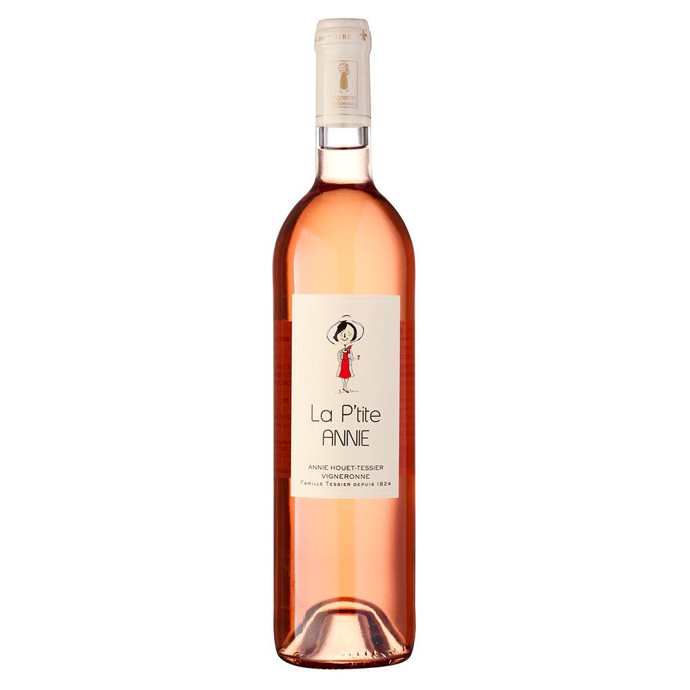Vinho Francês Rosé La P'tite Annie Loire Cabernet Franc 2019 Garrafa 750ml