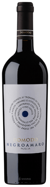 Vinho Italiano Tinto Domodo Negroamaro IGP Puglia 2019 Garrafa 750ml