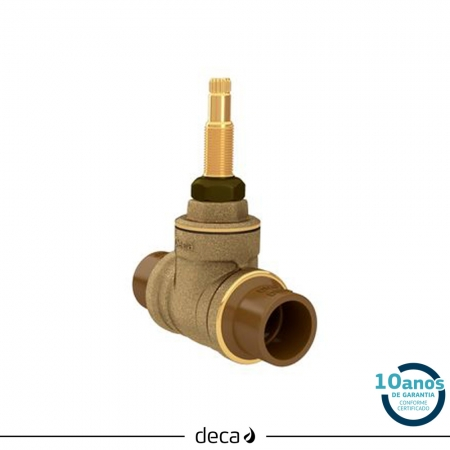 REGISTRO BASE GAVETA DECA FACIL 4509.202.PVC 3/4