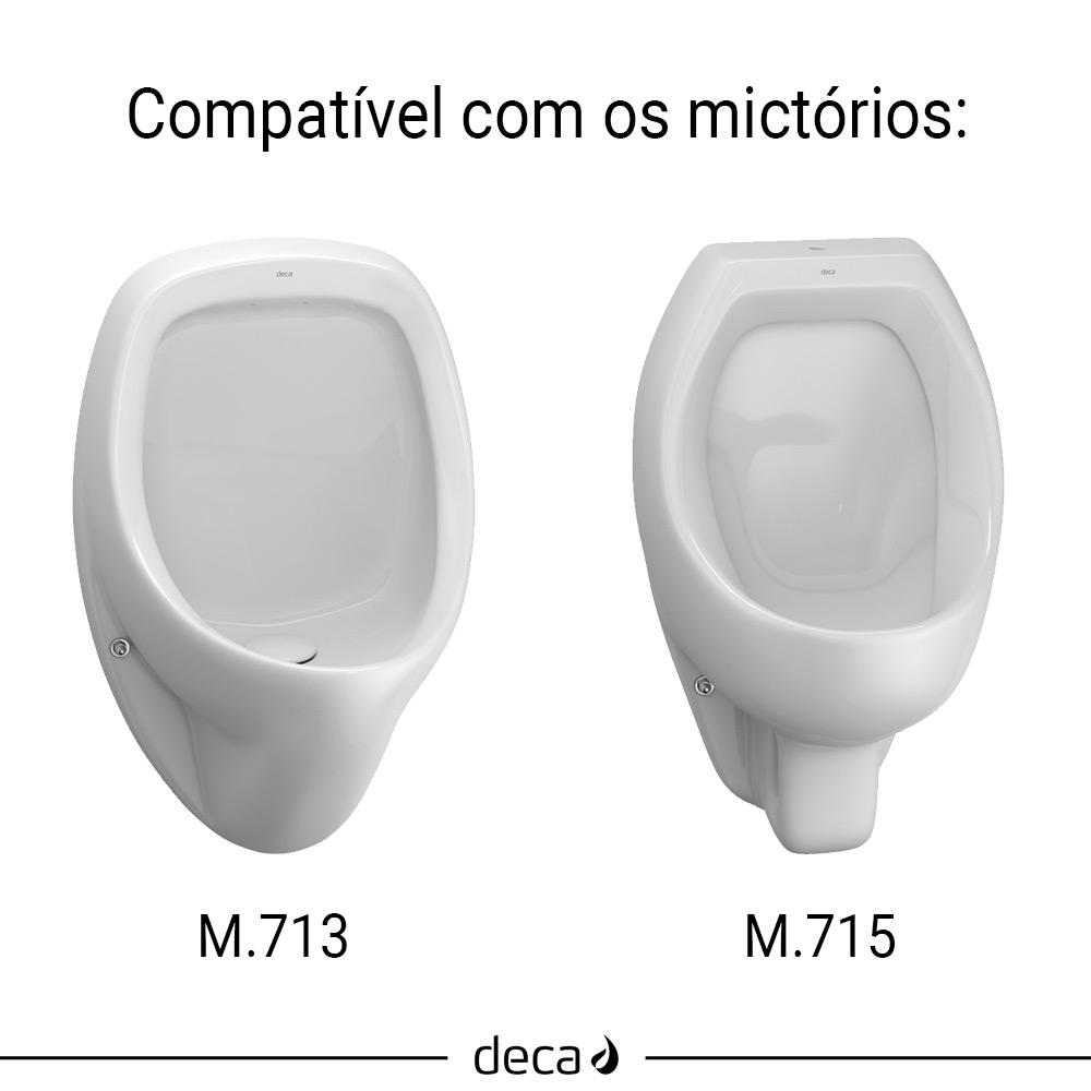 CONJUNTO PARA INSTALACAO DE MICTORIO DECA M.713/M.715