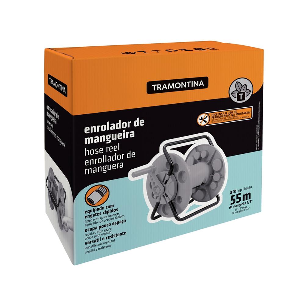 ENROLADOR DE MANGUEIRA TRAMONTINA FIXO