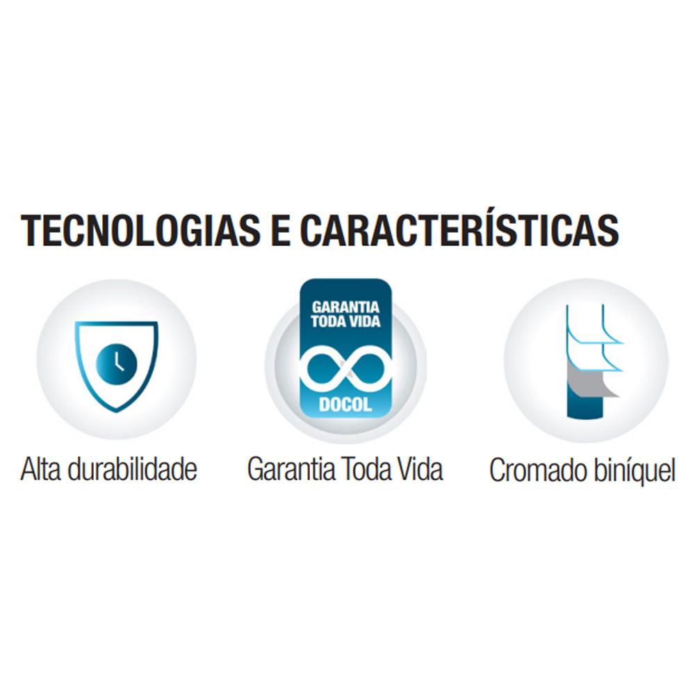 ACESSORIOS PARA BANHEIRO DOCOL IDEA 5 PCS