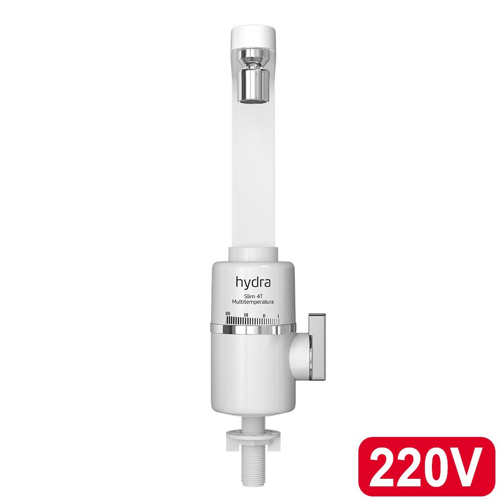 TORNEIRA ELETRICA HYDRA SLIM 4T 220V/5.500W BANCADA BRANCA