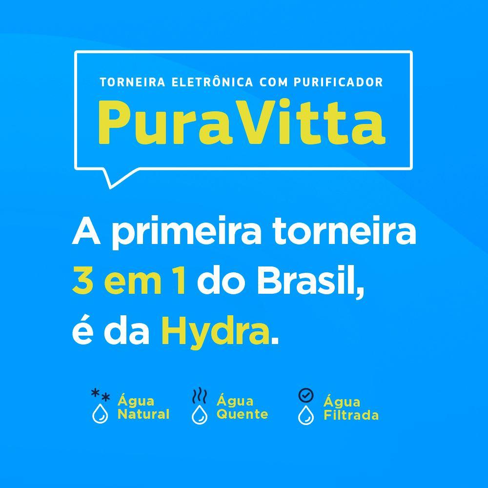 TORNEIRA ELETRONICA HYDRA PURAVITTA 220V/5500W C/PURIFICADOR