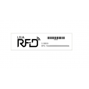 Etiqueta RFID UHF 900 MHz 74x20 - Personalizada